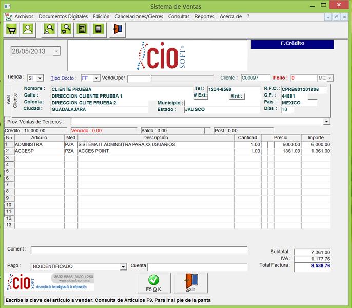software para negocios